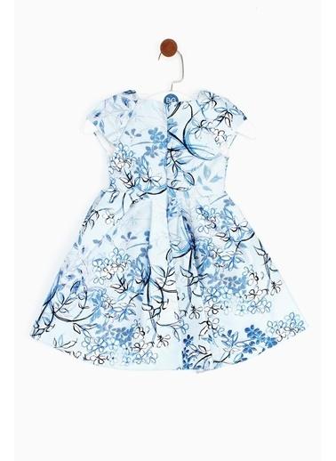Lia Lea Lia Lea Kız Bebek Çiçekli Elbise 19SSLLB0170 Renkli
